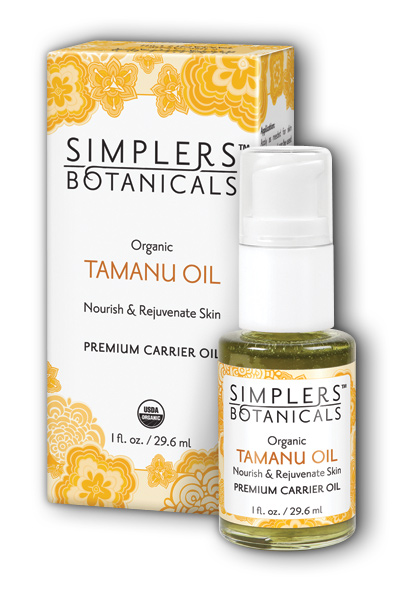 Living Flower Essences: Tamanu Oil Organic 1 oz