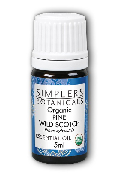 Pine Wild Scotch Organic 5 ml Oil from Living Flower E