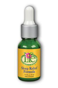 Living Flower Essences: Sleep Relief 0.5 oz Liq Unflv