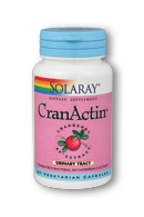 Solaray: CranActin Cranberry AF Extract 30ct