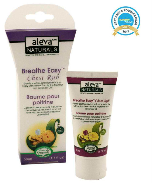 Baby Breathe Easy Chest Rub 1.7 oz from ALEVA NATURALS