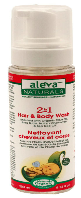 Baby 2 in 1 Hair & Body Wash 6.75 oz from ALEVA NATURALS