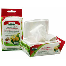 Bamboo Baby Wipes Hand & Face 30 ct from ALEVA NATURALS