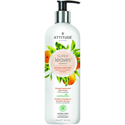 ATTITUDE: Natural Hand Soap Orange Leaves & Soy Protein 15.9 oz