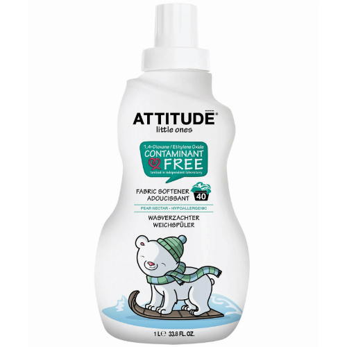 ATTITUDE: Little Ones Laundry Detergent for Baby 35 Loads Pear Nectar 35.5 oz