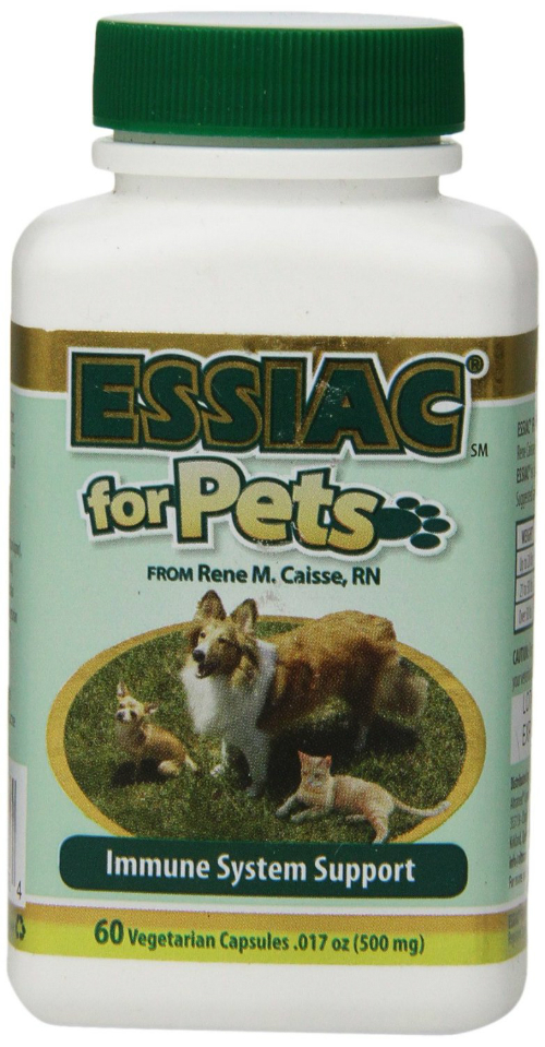 ESSIAC INTERNATIONAL: Essiac for Pets Herbal Supplement 60 capsule