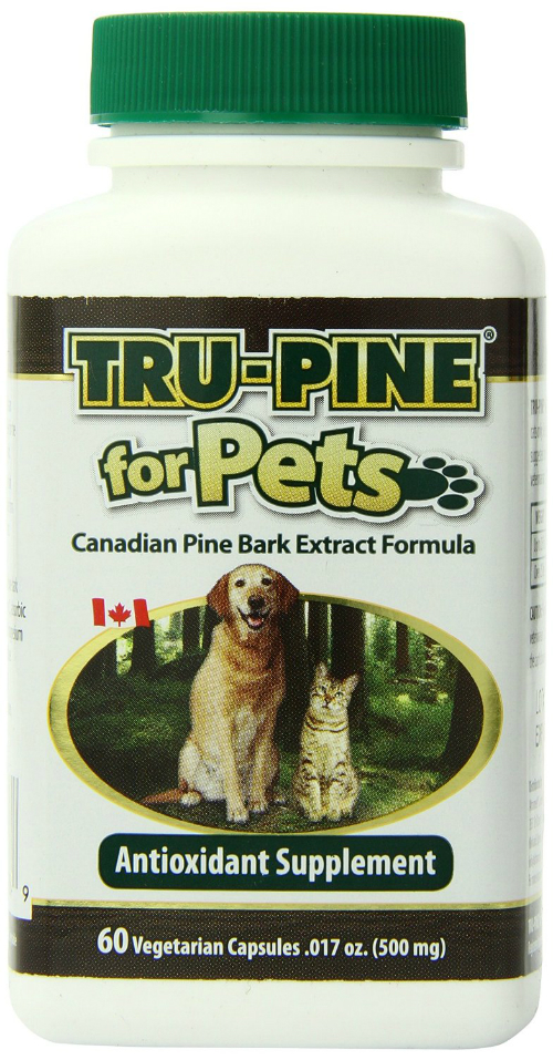 ultramed: True-Pine for Pets Canadian Pine Bark Antioxidant Supplement 60 capsule