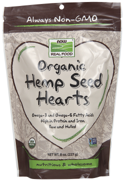 Organic Hemp Seed Hearts, 8oz