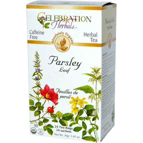 Parsley Leaf Tea Organic, 24 bag