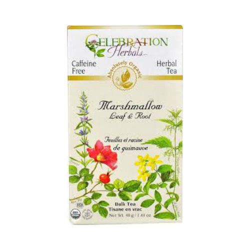 CELEBRATION HERBALS: Marshmallow Leaf & Root Org 40 gm