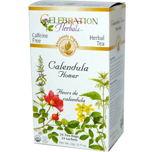 Calendula Flowers Tea Organic, 24 bag