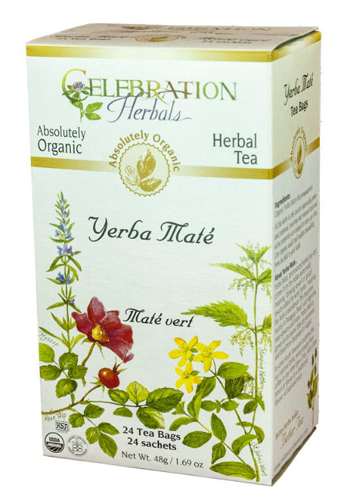 Yerba Mate Tea Organic 24 bag from Celebration Herbals
