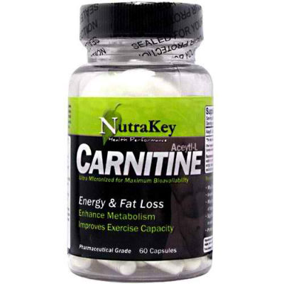 NUTRAKEY: ACETYL L-CARNITINE 60 VCAPS