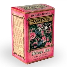 THE MATE FACTOR: Hibiscus Lime Tea 20 bg
