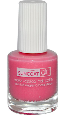 SUNCOAT PRODUCTS INC: Water-Based Peelable Nail Polish for Kids Fairy Glitter 0.27 oz