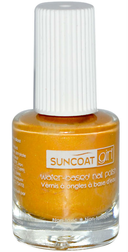 SUNCOAT PRODUCTS INC: Water-Based Peelable Nail Polish for Kids Apple Blossom 0.27 oz