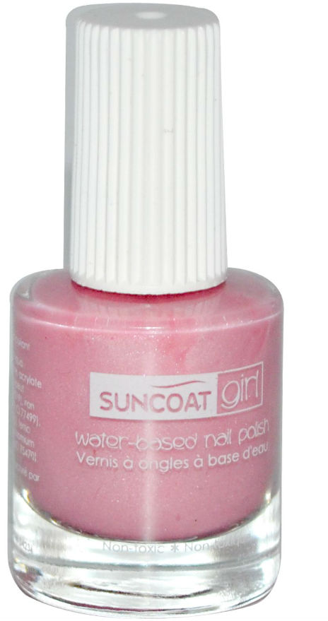 SUNCOAT PRODUCTS INC: Water-Based Peelable Nail Polish for Kids Ballerina Beauty 0.27 oz