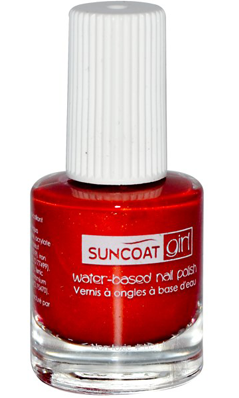 SUNCOAT PRODUCTS INC: Water-Based Peelable Nail Polish for Kids Golden Sunlight 0.27 oz