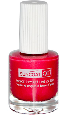SUNCOAT PRODUCTS INC: Water-Based Peelable Nail Polish for Kids Forever Fuchsia 0.27 oz
