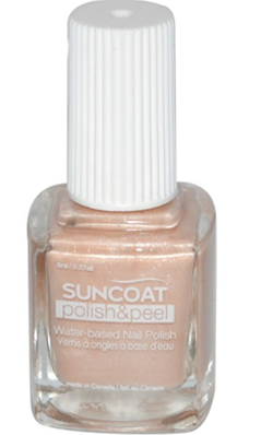 SUNCOAT PRODUCTS INC: Polish and Peel Water-Based Nail Polish Neutrality 0.27 oz