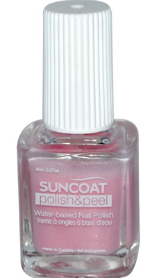 SUNCOAT PRODUCTS INC: Polish and Peel Water-Based Nail Polish Petal Blush 0.27 oz