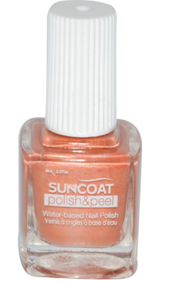 Buy Polish And Peel Water Based Nail Polish Coral Reef 0 27 Oz From Suncoat Products Inc And