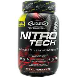 MUSCLETECH: NITRO-TECH CHOCOLATE 2 LBS