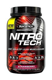 MUSCLETECH: NITRO-TECH STRAWBERRY 2 LBS
