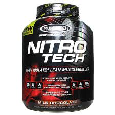 MUSCLETECH: NITRO-TECH CHOCOLATE 4 LBS