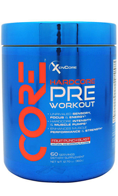 XENADRINE CORE PWO FRUIT PUNCH