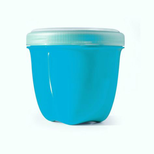 PRESERVE: Food Storage Mini Round Aquamarine 8 oz