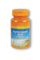 Thompson Nutritional: Alpha Lipoic Acid 250mg 60ct 250mg