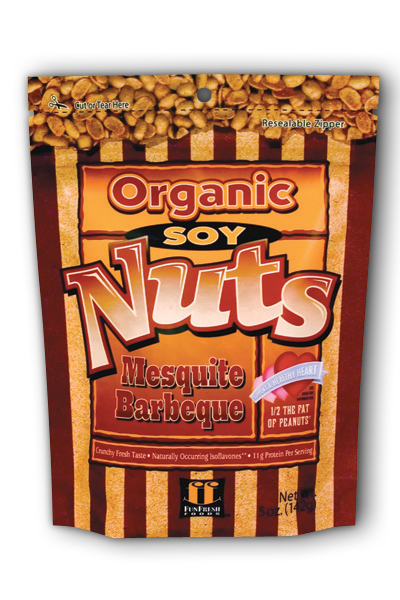 FunFresh Foods: SoyNuts Mesquite BBQ 5 Nut Mesquite Barbeque