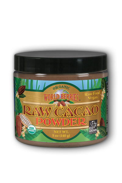Cacao Powder Raw Organic, 5 oz Pwd