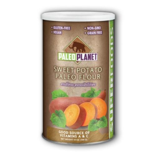 Fun Fresh Foods: Sweet Potato Flour (Natural) 14 oz Pwd