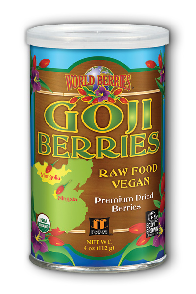 Goji Berries Organic, 4 oz