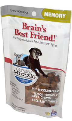 Gray Muzzle Brains Best Friend