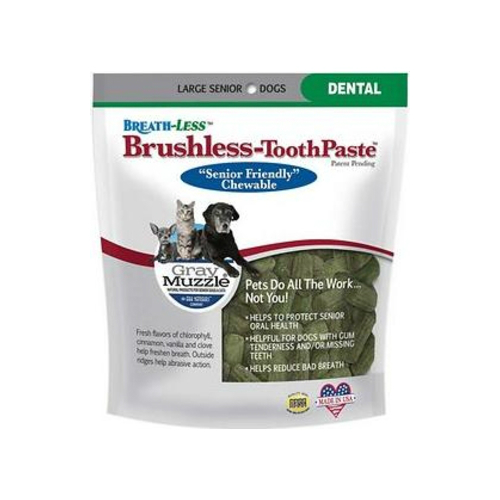 ARK NATURALS: Gray Muzzle Breathless-Brushless Toothpaste Large Dogs 7.8 oz