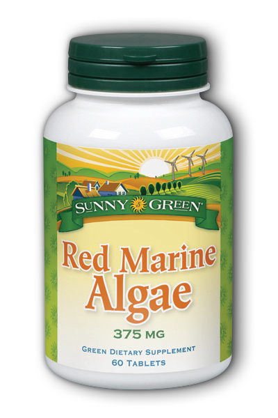 Sunny Green: Red Marine Algae 375mg 60 Tablets