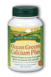 Ocean Greens Calcium Plus Natural Dietary Supplement