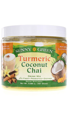 Turmeric Coconut Chai Drink Mix Dietary Supplement