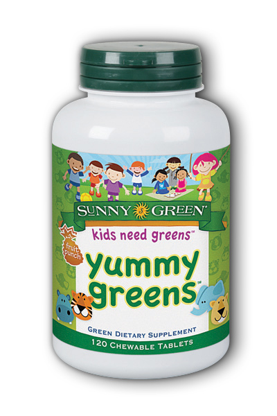 Yummy Greens - Fruit Punch Berry Dietary Supplement