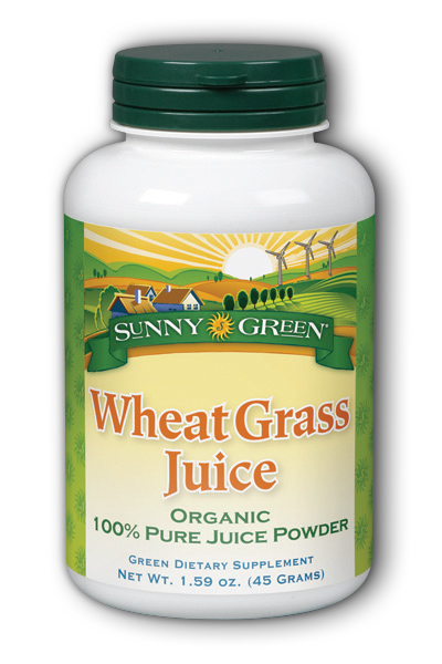 Sunny Green: Wheat Grass Juice Powder 45g 1g