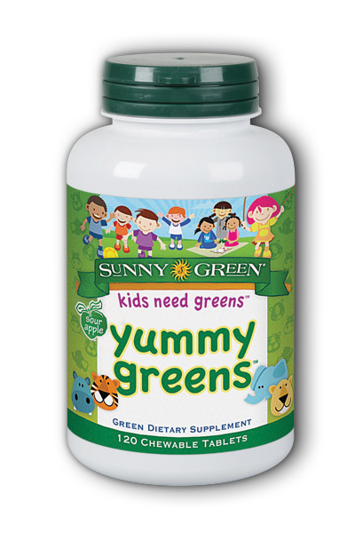 Yummy Greens Sour Apple Dietary Supplement