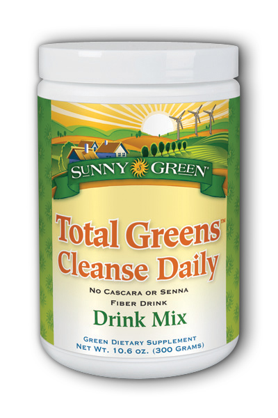 Total Greens Cleanse Daily Fiber Drink Dietary Supplement