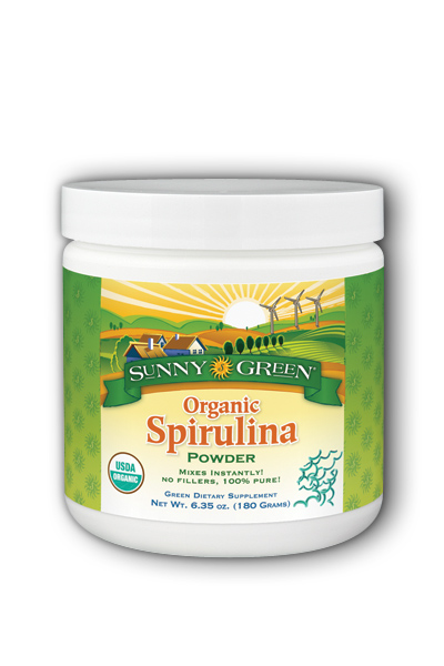 Organic Spirulina Powder Dietary Supplement
