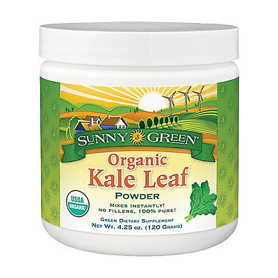 Kale Leaf Organic Powder Dietary Supplement