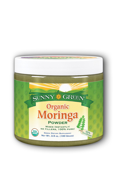 Moringa Leaf Powder Organic Unflavored Dietary Supplement