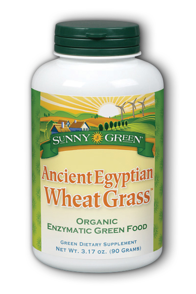 Sunny Green: Ancient Egyptian Wheat Grass Powder 90 Gram Powder