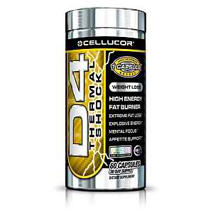 CELLUCOR: D4 THERMAL SHOCK 60 caps
